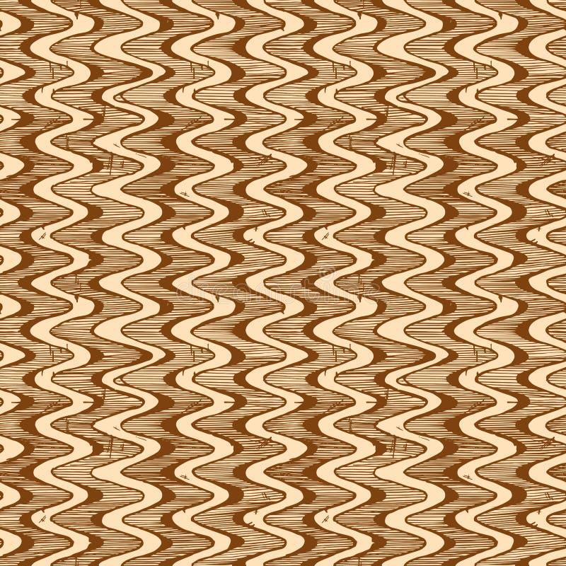 Eenvoudig Geometrisch Patroon vector illustratie