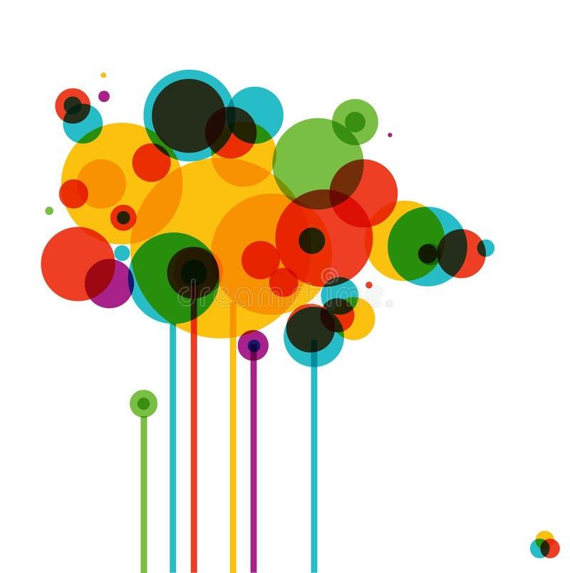 Eenvoudig grafisch ontwerp royalty-vrije illustratie