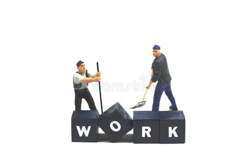 Eenvoudig het werk! royalty-vrije stock foto's