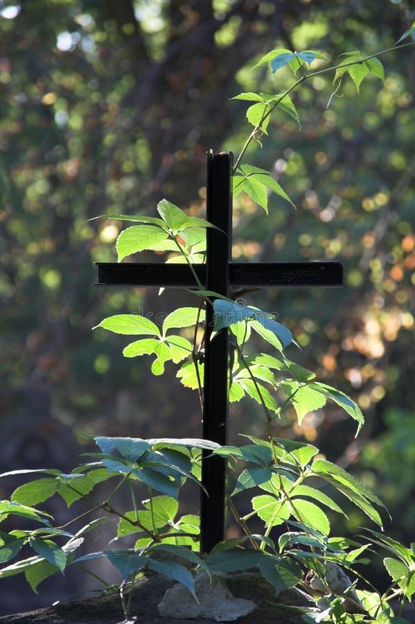 Eenvoudig Kruis stock fotografie