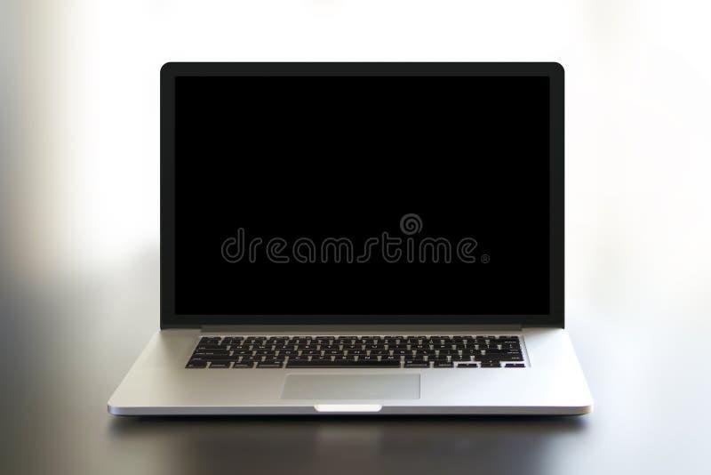 Eenvoudig MacBook Pro royalty-vrije stock afbeelding