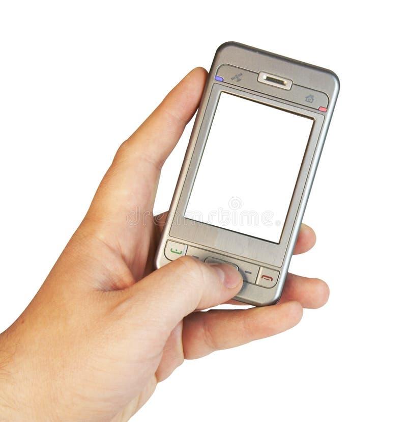 Eenvoudig slimme telefoon royalty-vrije stock afbeelding