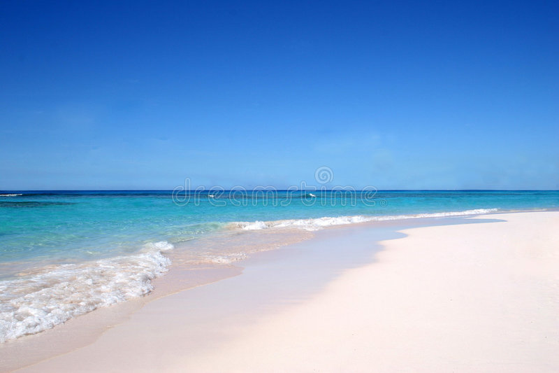 Eenvoudig strand royalty-vrije stock foto