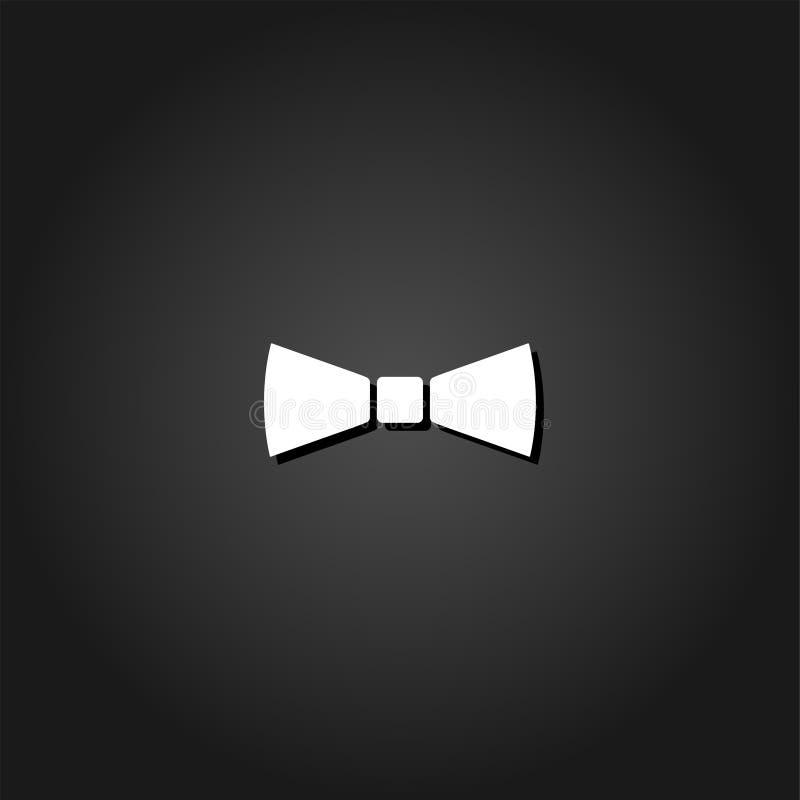 Eenvoudig vlak Vlinderdaspictogram vector illustratie