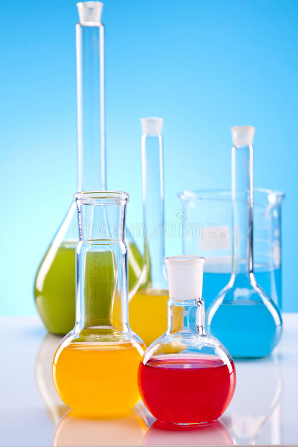 Eenvoudige Chemie royalty-vrije stock foto's