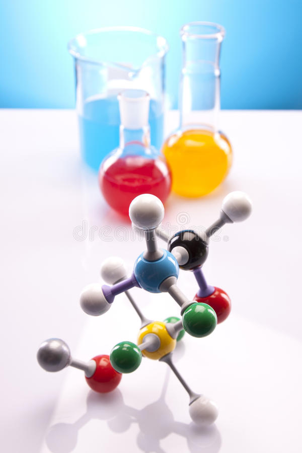 Eenvoudige Chemie stock foto