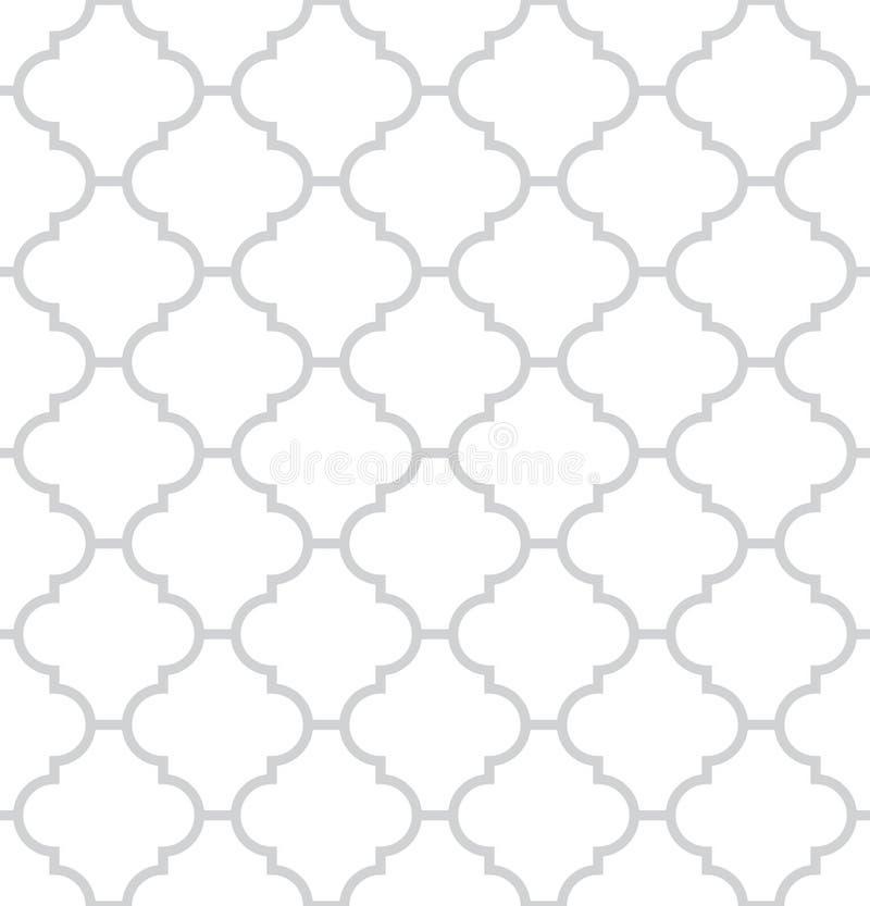 Eenvoudige geometrische vector naadloze textuur vector illustratie