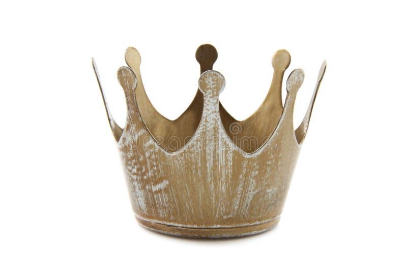 Eenvoudige kroon royalty-vrije stock foto
