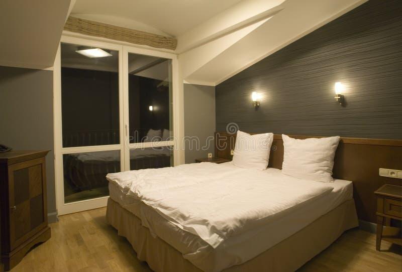 Eenvoudige Slaapkamer stock foto's