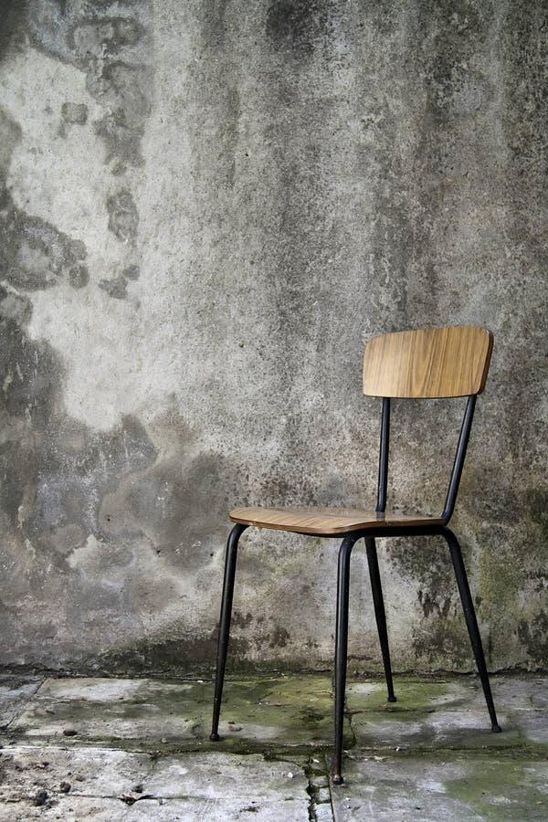 Eenvoudige stoel stock foto