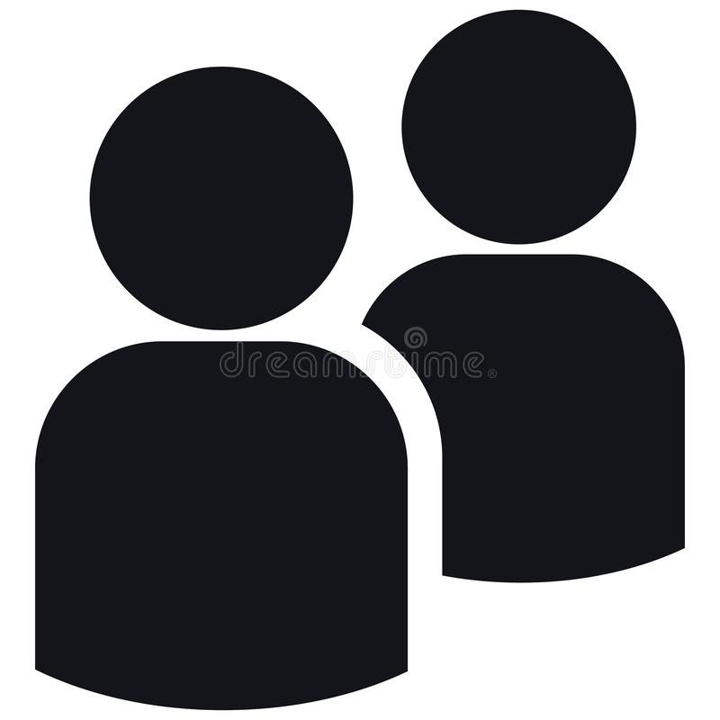 Eenvoudige vectorillustratie vector illustratie