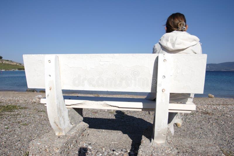Download Eenzaamheid stock foto. Afbeelding bestaande uit nadenkend - 293282