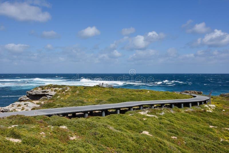 Eenzaamheid bij Kaap Vlamingh stock fotografie