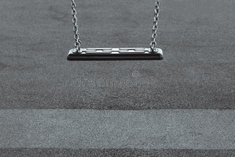 Eenzaamheidschommeling stock fotografie