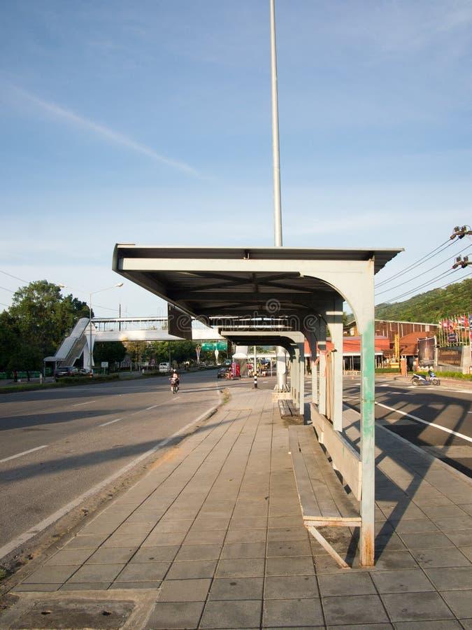 Eenzame bushalte stock fotografie