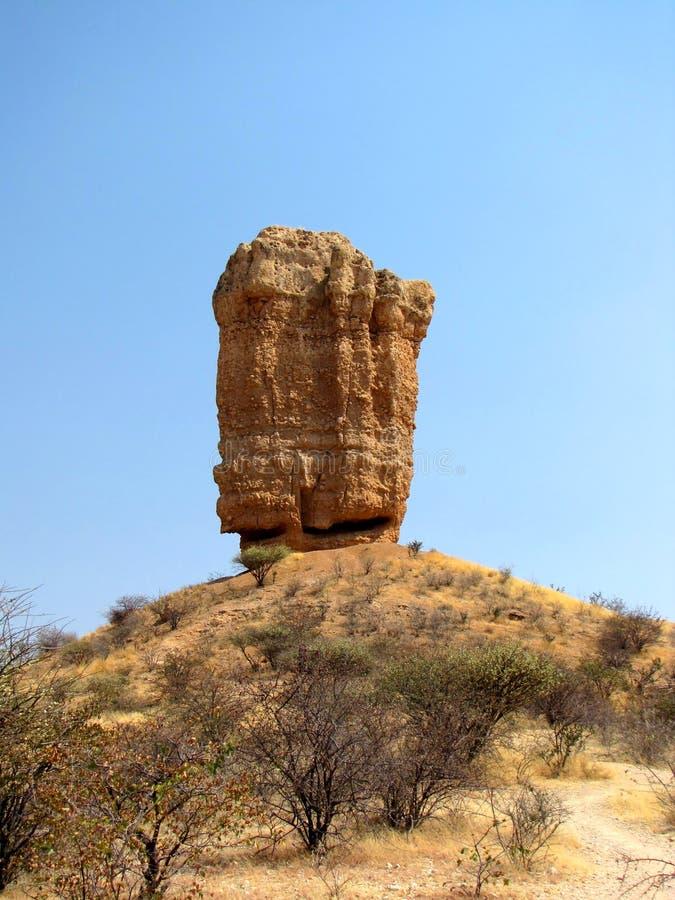 Eenzame rots royalty-vrije stock foto's