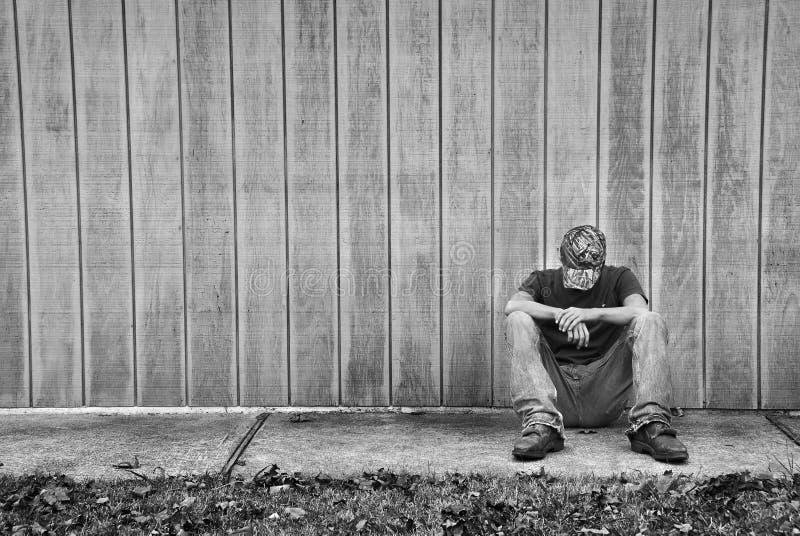 Eenzame Tiener stock afbeeldingen