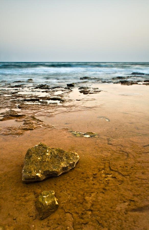Eerie coast stock images