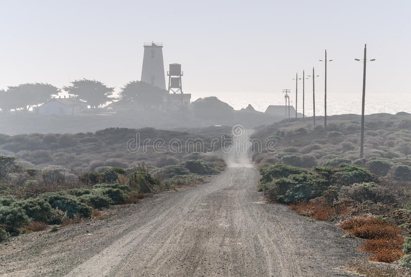 Download Eerie View Of Lighthouse Royalty Free Stock Images - Image: 34973479