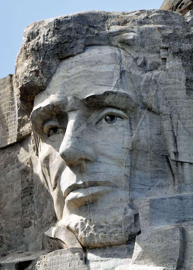 Eerlijke Abe op Rushmore royalty-vrije stock afbeeldingen