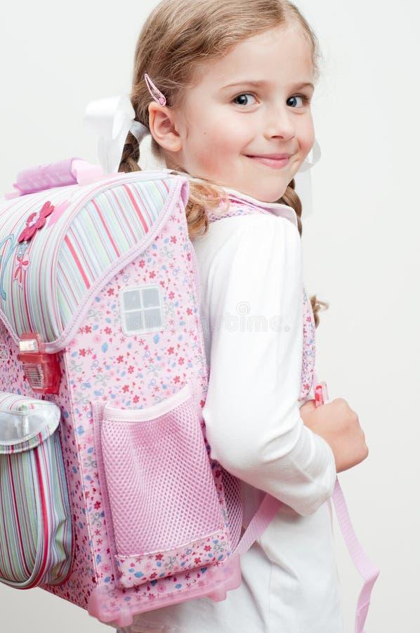 Eerste dag op school royalty-vrije stock foto's