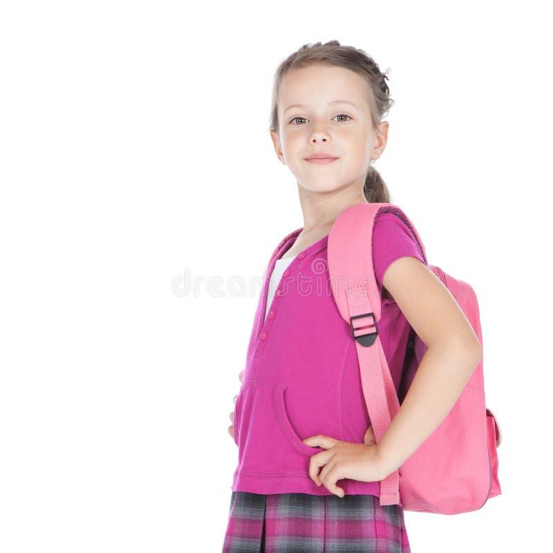 Eerste dag op school stock fotografie
