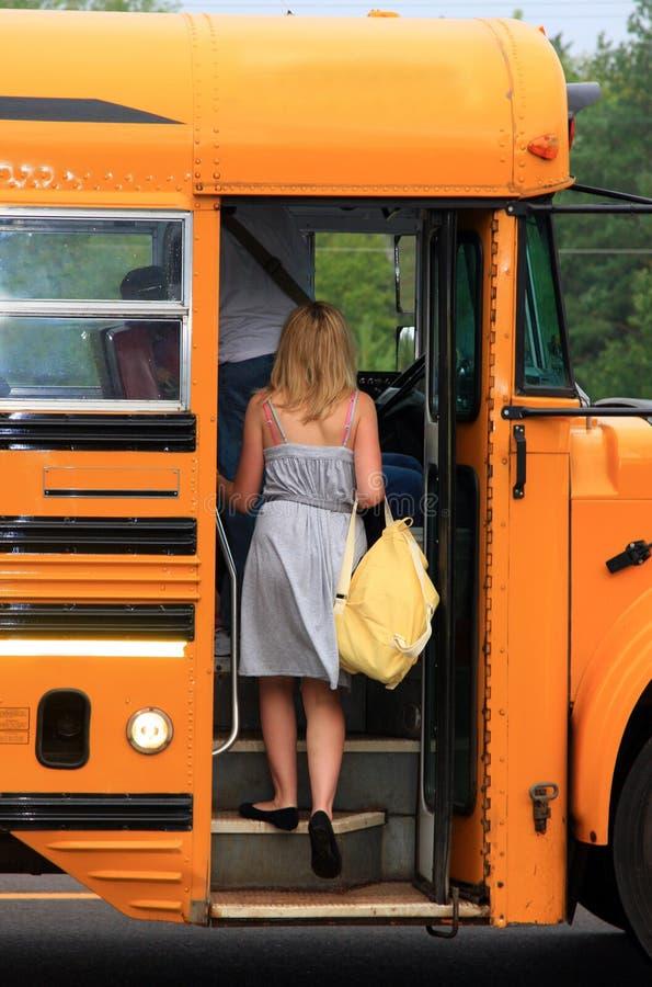 Eerste Dag van School royalty-vrije stock afbeeldingen