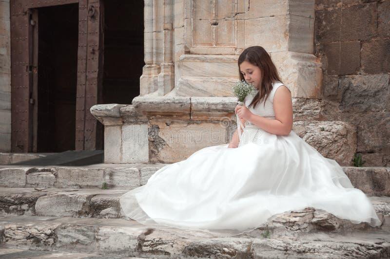 Eerste heilige kerkgemeenschap royalty-vrije stock afbeeldingen