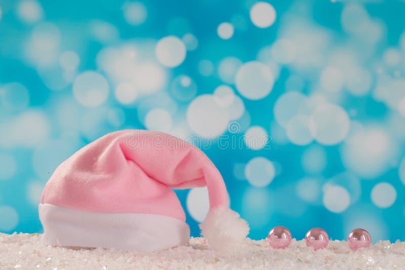 Eerste Kerstmis van de baby royalty-vrije stock foto's