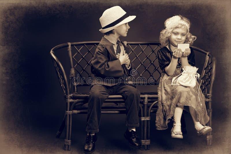 Eerste liefde stock fotografie