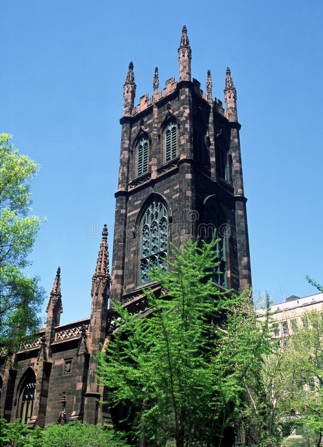 Eerste Presbyteriaanse Kerk NYC royalty-vrije stock foto's