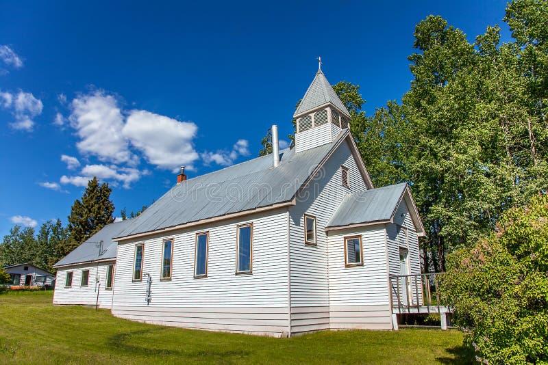 Eerste Verenigd Kerkfort Fraser British Columbia stock foto's