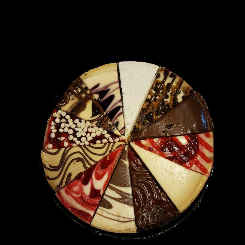 Eet Dessert Eerste! stock foto