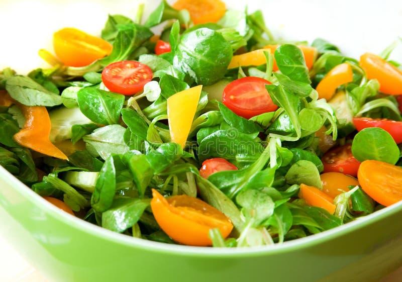 Eet gezond! stock afbeelding