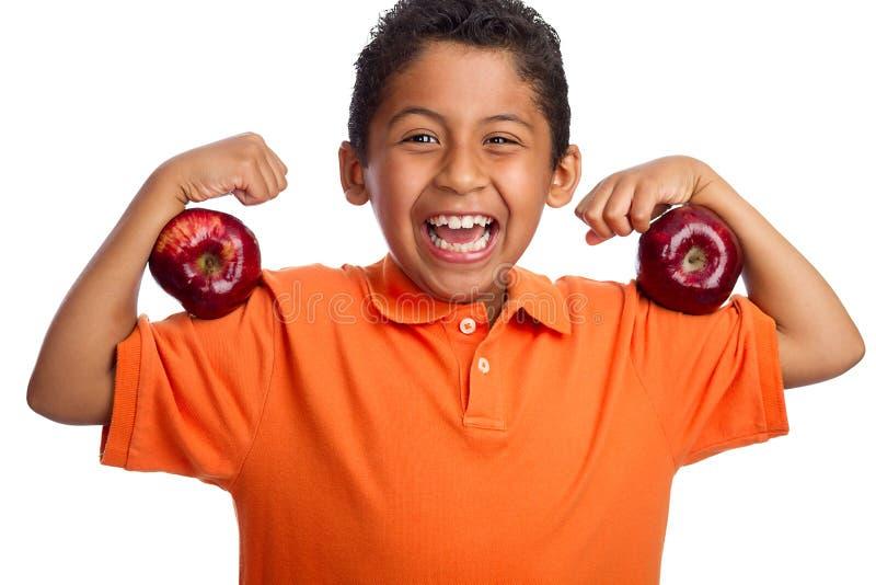 Eet Meer Fruit voor Sterker u royalty-vrije stock foto's