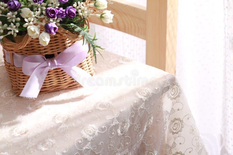 Eettafel royalty-vrije stock afbeelding