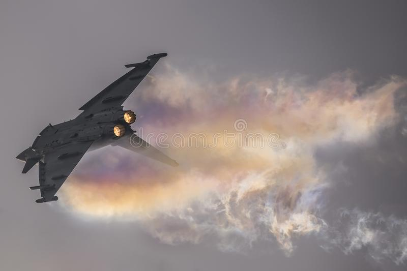 EF 2000 Eurofighter II stock fotografie