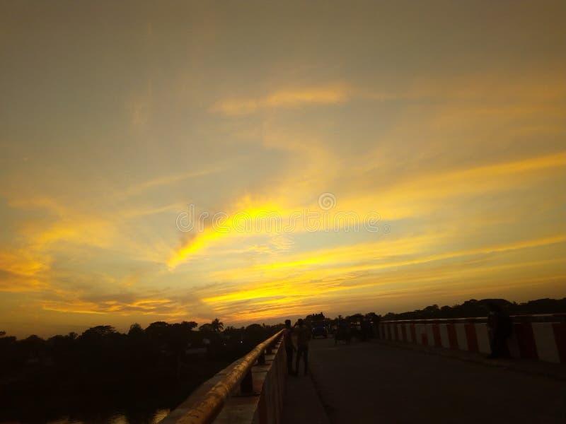 efect цвета неба стоковое изображение