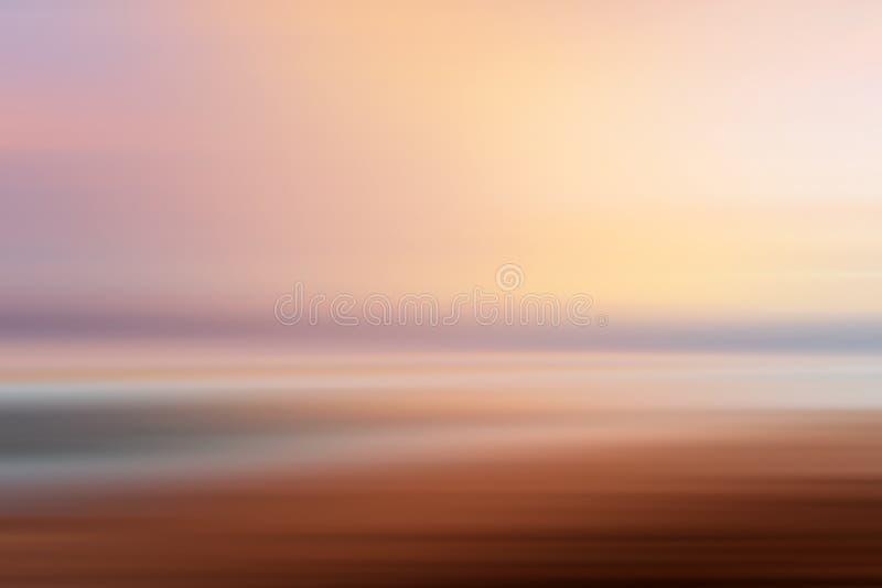 Efect de la imagen de la playa imagen de archivo