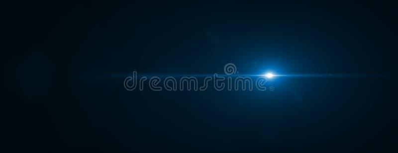 Efecto de la llamarada de la lente representación 3d imagen de archivo libre de regalías