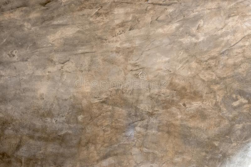 Efecto decorativo del yeso del cemento de la pared fotos de archivo