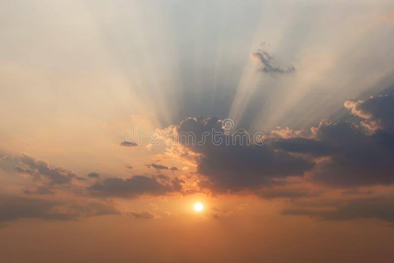 Efecto del cielo de la nube imagen de archivo