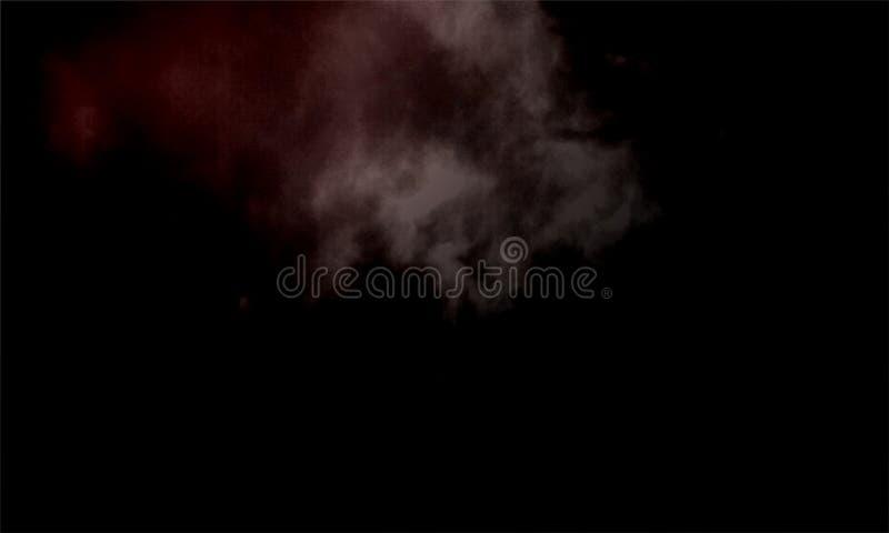 Efecto especial de la niebla o del humo Fondo de la nubosidad, de la niebla o de la niebla con humo Ilustraci?n del vector ilustración del vector