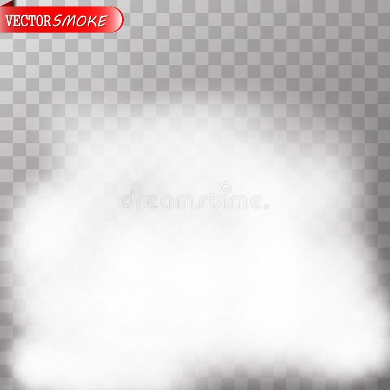 Efecto especial transparente de la niebla o del humo libre illustration