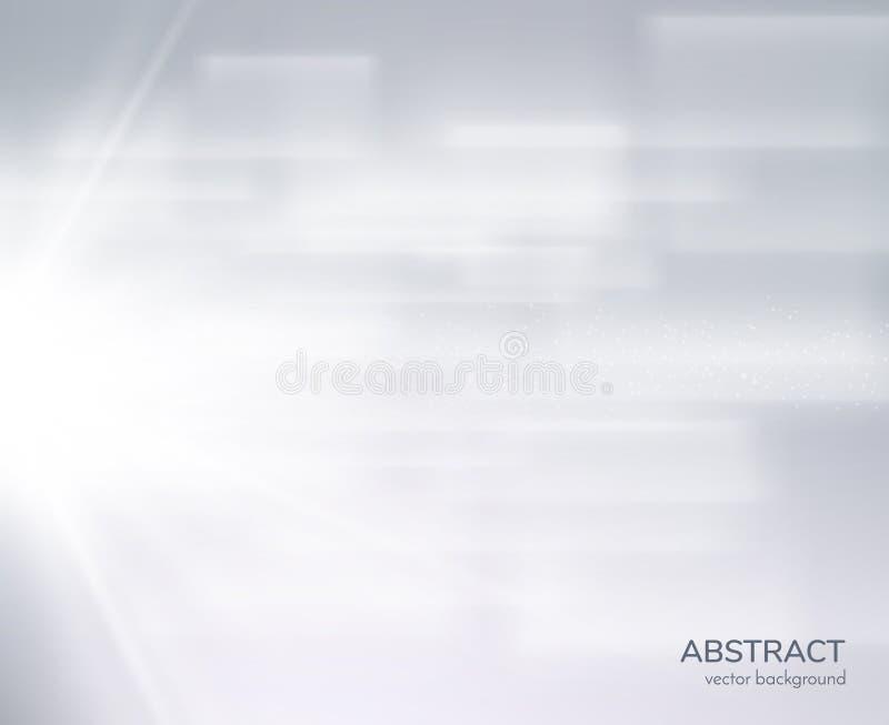 Efecto transparente espiral brillante del resplandor Vector eps10 ilustración del vector