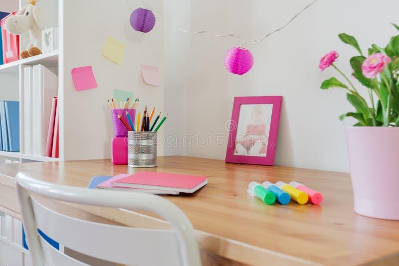 Efectos de escritorio en el escritorio imágenes de archivo libres de regalías