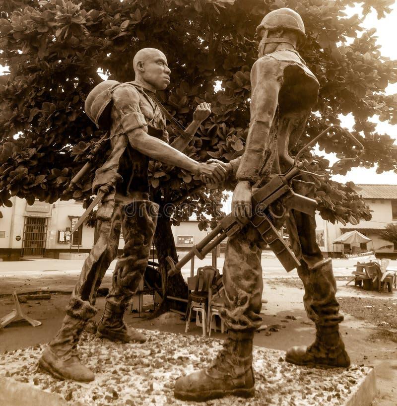 Efectos de la guerra fotos de archivo
