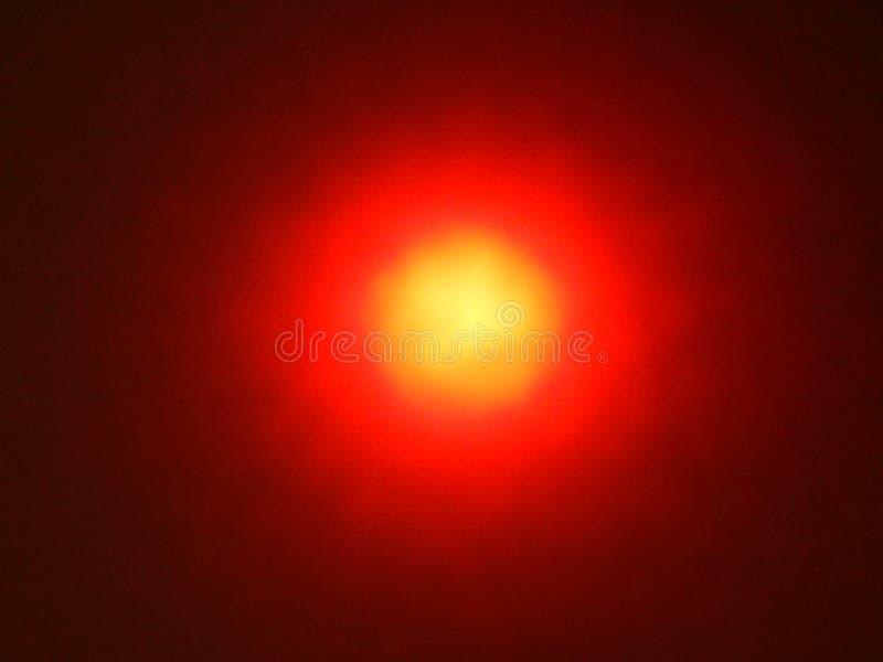 Efectos luminosos de la luminiscencia, lámpara de resplandor foto de archivo libre de regalías