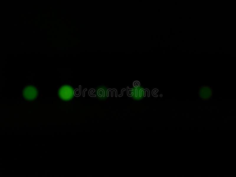 Efectos luminosos de la luminiscencia, lámpara de resplandor fotos de archivo libres de regalías