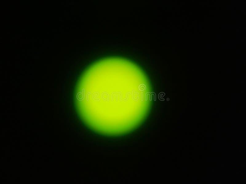 Efectos luminosos de la luminiscencia, lámpara de resplandor imagen de archivo libre de regalías